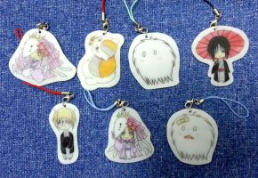 Nastume Yuujinchou Handphone Charms by NighThingale