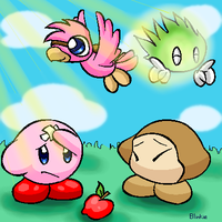 Kirby Pals by G-Bomber