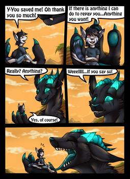 Vore, Lifesaving and a promise with loop. 2/11 by icat