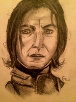 Snape by Grims-tales123