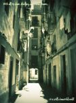 Streets of Barcelona - 4 by Aluvian
