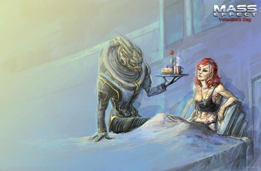 Valentine's Day for N7 by Amales