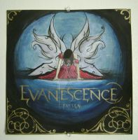 evanescence record album cover by QueenLilSis