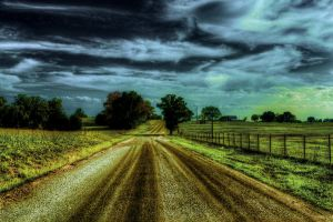 Country Road III HDR by joelht74