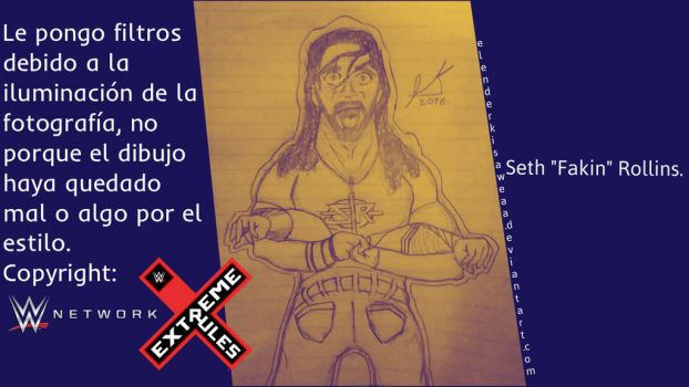 Seth ''Fakin'' Rollins - Pedigree Extreme Rules by ElEnderKisaweaa