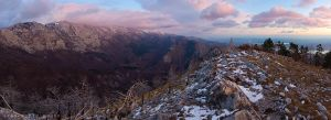 A View from peak Golic by ivancoric