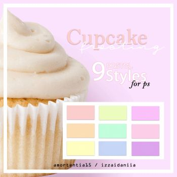 Cupcake Frosting Styles by amortentia15