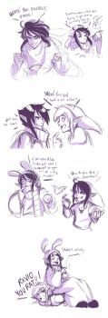 What if Ravio was evil....? by bossbetch