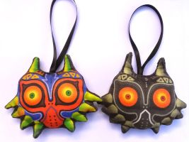 Majora's Mask Plushies by knil-maloon