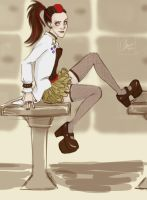Punk!Molly Hooper by lexieken