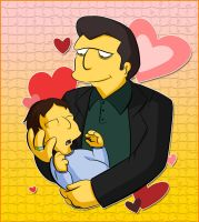 To.Frankierox1996 - Fat Tony, Baby Michael by Matsuri1128