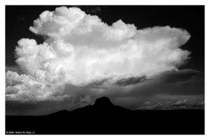Thunderhead II - Print by elektronika7