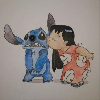 Lilo and Stitch by lmoyer92