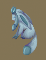 Glaceon by jaclynonacloud