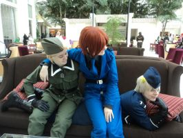 Prussia is a sofa, obviously. by CosplayFor2