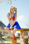 Sailor Moon - Bunny - Casual Dress [Watching you] by GeniMonster