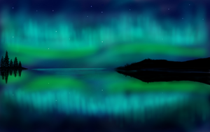 Nothern lights by Andrea15-Skywalker