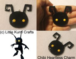 Chibi Heartless Necklace by lkcrafts