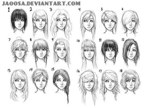 Hairstyles 01 by jaoosa