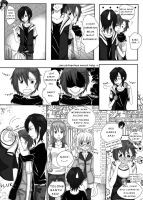 PD: One-Page-Comic - RP on 2/2/2014 on Line by Tsukisuki-chama