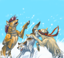 Snow games by Yantus