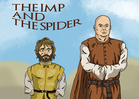 The Imp and the Spider by Juggernaut-Art