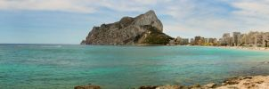 Panorama at Calpe by olahaldor
