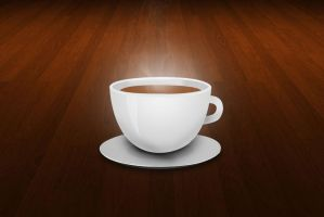 Cup of coffee by Mohic