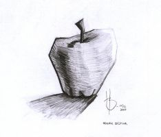 Apple of cubism by henkrygg