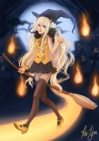 SeeU : Happy Halloween by Kai-Yan