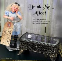 OOAK Alice Wonderland by SutherlandArt