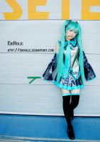 VOCALOID - MIKU 002 by ekiholic