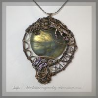 Forest Twilight by blackcurrantjewelry