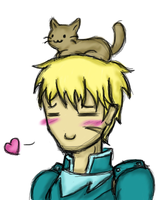 Cormag Loves Kittehs by FatefulWings