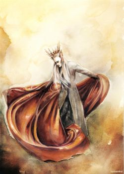 THRANDUIL - Elvenking of the Woodland Realm by Farbenfrei