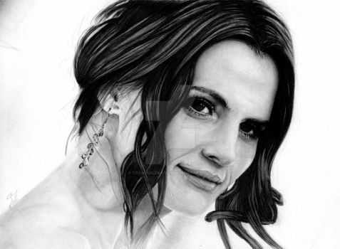 Stana Katic by TranquilDragon