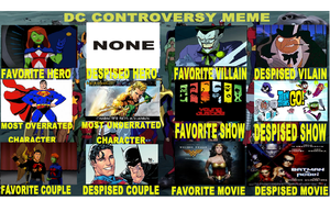 My DC controversy meme by Iheartgreece