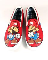 Mario Slip Ons by Annatarhouse