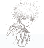 Killua by Bassara