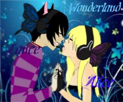 Wonderland- Lance and Alice by TsukiyoNoMarionette