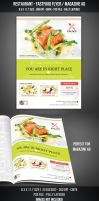 Restaurant - FastFood Flyer / Magazine AD by graphicstock