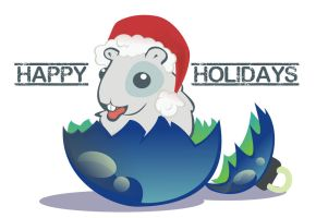 happy holidays 2012 by Kna