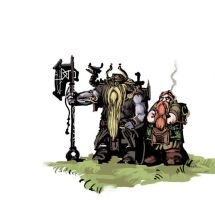 Dwarven lads by Art-Calavera