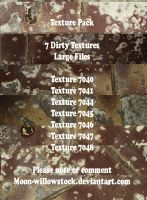 Dirty Grunge Texture Pack II by Moon-WillowStock