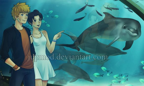 NaruTen: Love Under The Sea by JuPMod