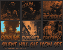 Silent Hill Icons by jadednightmares