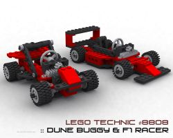 Lego 8808 - Final by slipstream3d