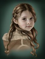 Little Girl-from 'Autumn' by Daelayna