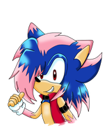 Rush the Hedgehog .:AT:. by TairusuKU