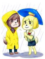 Isabelle and Digby by EtrnlPeace